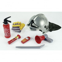 KLEIN - Set Pompier 7 pieces Casque F1 Pompiers de Paris