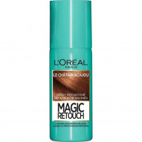 L'OREAL PARIS Magic Retouch Spray Retouche Racine Instantané - 75 ml - Chatain Acajou