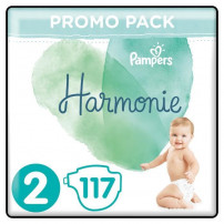 Pampers Harmonie Taille 2, 117 Couches