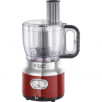RUSSELL HOBBS 25180-56 - Robot multifonction Retro - 850 W - Rouge
