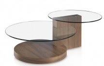 table basse en bois en m tal ou verre. Black Bedroom Furniture Sets. Home Design Ideas