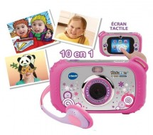 Appareil photo Touch Connect Rose KidiZoom Vtech 2 MP
