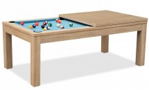 Billard table à manger naturel Sportank