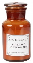 Bougie apothicaire rosemary & white ginger Davy 200gr