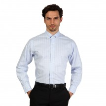 Brooks Brothers Chemise homme 100040503 bleu