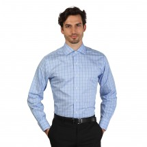 Brooks Brothers Chemise homme 100040545 bleu