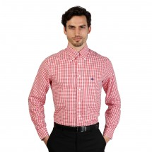 Brooks Brothers Chemise homme 100047261 rouge