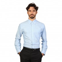 Brooks Brothers Chemise homme 100047670 bleu