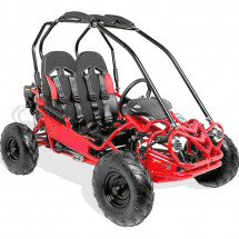 Buggy enfant 160cc 2 places rouge