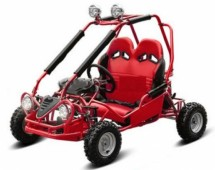 Buggy enfant 50cc automatique Sporta rouge