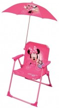 Chaise avec parasol Minnie Paris Disney