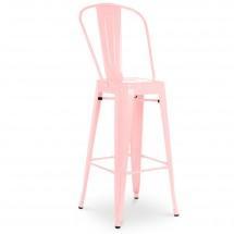 tabouret de bar rose. Black Bedroom Furniture Sets. Home Design Ideas