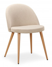 Chaise de salle à manger beige | LesTendances.fr