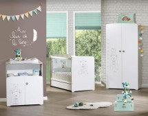 Chambre bébé complète moderne   LesTendances.fr
