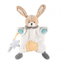 CHICCO Doudou Lapin marionnette