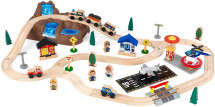 Circuit de train Bucket Top Mountain Kidkraft 17826