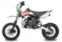 Dirt Bike 110cc Storm orange 12/10 e-start automatique 4 temps