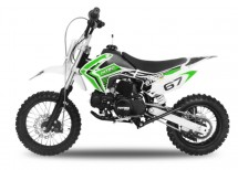 Dirt Bike 110cc Storm verte 12/10 e-start automatique 4 temps