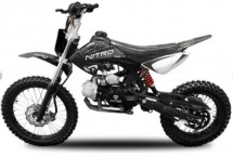 Dirt Bike 125cc NXD Prime noir automatique 4 temps 17/14
