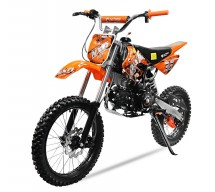 Dirt Bike 125cc NXD Prime orange automatique 4 temps 17/14