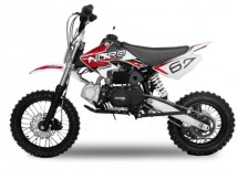 Dirt Bike 125cc Storm 14/12 Manuel 4 temps Rouge