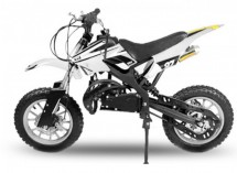Dirt bike 49cc Apollo midi 10/10 blanc