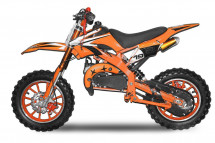 Dirt bike 49cc Apollo midi 10/10 e-start orange