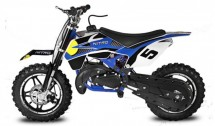 Dirt Bike 49cc BullBike 10/10 bleu
