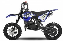 Dirt Bike 49cc Croxx 10/10 Kick starter bleu