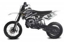 Dirt Bike 49cc NRG50 Reverse Noir