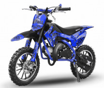 Dirt bike 49cc Serval 10/10 automatique bleu