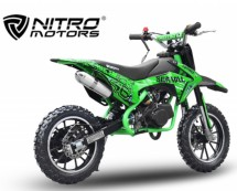 Dirt bike 49cc Serval 10/10 automatique vert