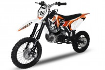Dirt Bike 50cc NRG GTS Hydraulique 14/12 Kick starter automatique orange