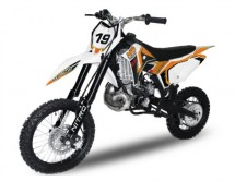 Dirt Bike 65cc orange NRG65 GTR 14/12 refroidissement à eau