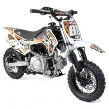 Dirt bike 90cc 4 temps automatique Racing orange