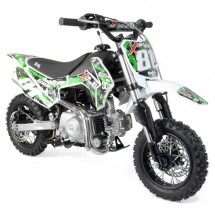 Dirt bike 90cc 4 temps automatique Racing vert
