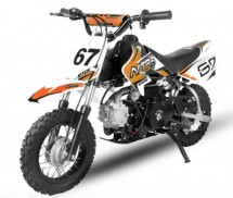 Dirt Bike 90cc Storm Auto 10/10 Orange