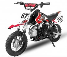 Dirt Bike 90cc Storm Auto 10/10 Rouge