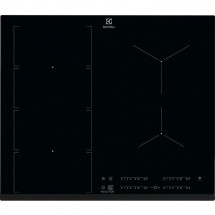 ELECTROLUX EIV654 FLEX- Table de Cuisson Induction - 4 foyers - 4 boosters - 7350W - L60 x P52 x H44cm - Revetement verre - Noir