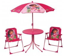 Ensemble table et 2 chaises Dora Disney