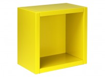 Etagère cube jaune Mix & Match