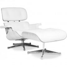 fauteuil avec repose pieds blanc. Black Bedroom Furniture Sets. Home Design Ideas