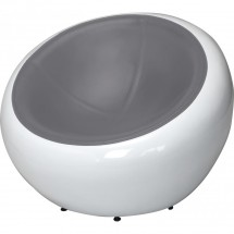 Fauteuil style Egg Pod Ball Chair assise tissu