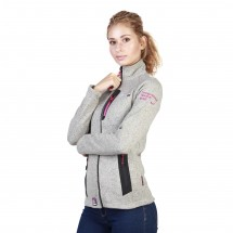 Geographical Norway Sweat-shirt femme tazzera wo gris