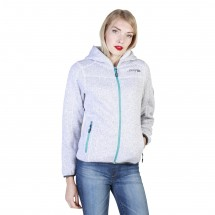 Geographical Norway Sweat-shirt femme torche wo blanc