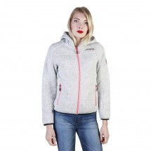 Geographical Norway Sweat-shirt femme torche wo gris