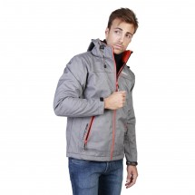 Geographical Norway Veste homme twixer gris orange