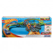 HOT WHEELS - ACTION - Crash Colossal - Circuit Motorisé - 2 véhicules inclus - 5 ans et +