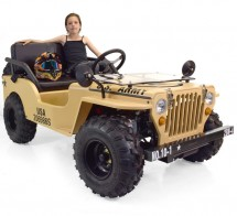 Jeep 110cc 3 vitesses Beige