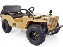 Jeep 125cc 3 vitesses Beige